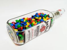Jim Beam Serving Dish | Looking Sharp Cactus – Looking Sharp Cactus LLC Alcohol Bottles, Liquor Bottles, Glass Bottles, Cut Bottles, Bourbon Gifts, Whiskey Gifts, Snacks Dishes, Candy Dishes, Candy Bowl