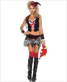 Plank Walking Pirate Sexy Costume  sc 1 st  Pinterest & Sexy Pirates! | SUPER CUTE COSTUMES!!! | Pinterest | Pirate wench ...