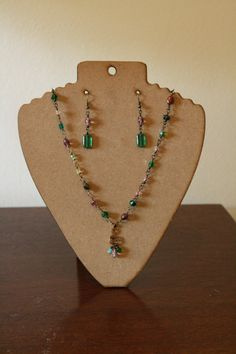 Isabella Necklace and Earring Set