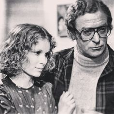 "Mia Farrow and Michael Caine in Woody Allen's ""Hannah And Her Sisters""."