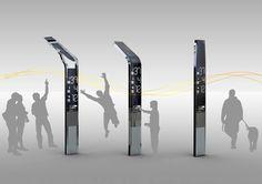 eyestop italy futuristic bus stop