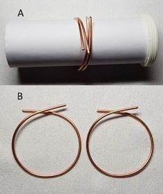 How to Make Wire Earrings - This wonderful step-by-step guide is based on one of Rodis first popular creations. Create your own jewelry from beading to wire-wrapping, this site will guide you to master the techniques.