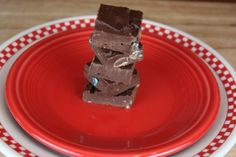 Easy and quick candy bar fudge when you need that last minute school treat!