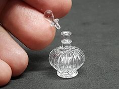 Bottle glass perfume for collectibles perfume bottle and