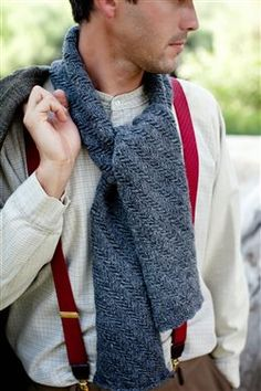 Gilbert's Scarf, As Seen on Knitting Daily TV with Vickie Howell, Episode #1302 - Media - Knitting Daily