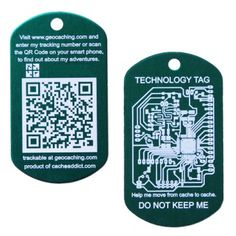 New way of Geocaching - Just scan it, log It and move it to the next cache.  $6.99 @ shop.geocaching.com  #trackables #geocaching