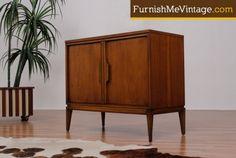 Mid Century Modern Mini Cabinet