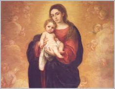 virgem maria e jesus
