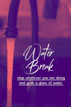 Stop what you are doing and grab a healthy glass of water! Then share this so someone else remembers to drink more water too! Drink Water Quotes, Drink More Water, Getting Rid Of Headaches, How To Relieve Headaches, Milo Drink, Lemongrass Recipes, Water Reminder, Water Challenge, Fruit Water