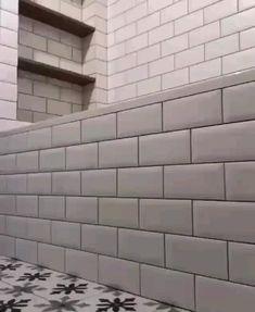 Modern Bathroom Decor, Modern Bathroom Design, Bathroom Interior Design, Small Bathroom, Bathroom Ideas, Bathroom Renovations, Secret Storage, Home Room Design, Bathroom Storage