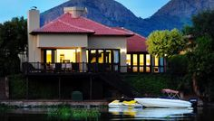 Exquisite lakeside villa, North West Province. South Africa