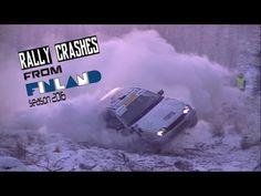 Finnish rally crashes 2016 by Yleisölle viihdettä Motorsport videos