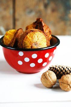 Sinaasappel chocolate chip cakejes