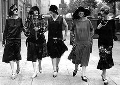 Fatos e fatos da moda entre 1910 a 1920