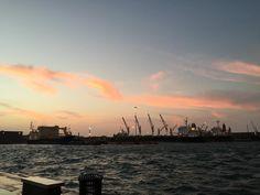 Atardecer en Veracruz #harbor #port #veracruz #sunset #beach #weekend #love #relax #vacationes
