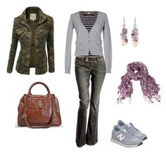 fall outfit by liliana-vaccara on Polyvore featuring moda, Stefanel, White Stuff, New Balance, Avenue, NOVICA, LA77 and Doublju