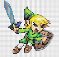 LIKE THIS PIXEL ART? Visit for more grids just like this! Pokemon, Zelda, Mario, and much much more! Please Credit my grids if you use them and then upload the product, more people will find them, ...