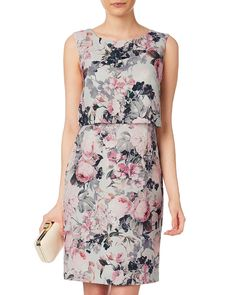 Dresses | Multi Harley Floral Dress | Phase Eight