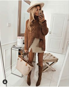 Winter Fashion Outfits, Fall Winter Outfits, Look Fashion, Chic Outfits, Autumn Winter Fashion, Womens Fashion, Fashion Trends, Fashion Dresses, Work Outfits