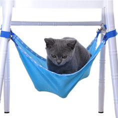 2 Colors Hanging Bed For Small Pets Cat Kitten Puppy Rat Hammock Small Dogs Cage Swing