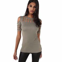 4 Colors Women's Short Sleeve Shirts