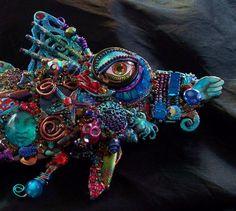 The Fantastic Bead Mosaics Sealife Series The Mini by bluemoose, $235.00