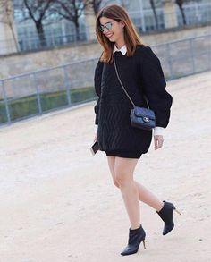 paris #pfw / look do dia sportwear c/ moletom