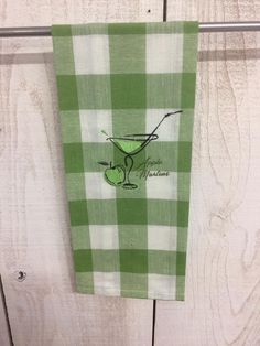 Check it out!  Apple Martini Kitchen Towel at www.jendyandfriends.com