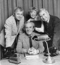 It Sticks Out Half a Mile was a BBC Radio sitcom created by Harold Snoad and Michael Knowles as a sequel to the television war sitcom Dad's Army, for which Snoad and Knowles had written radio adaptations.