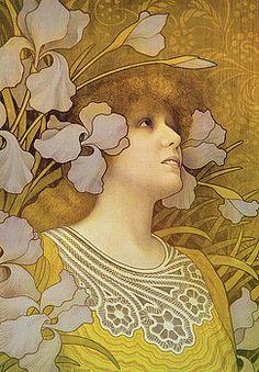 Paul Berthon - Sarah Bernhardt