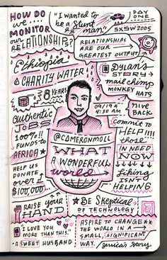 Cameron Moll - What a Wonderful World - from Circles Conference, via the Creative Market Blog #circles2013