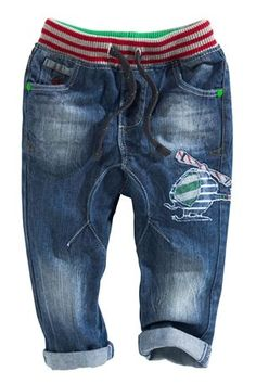 Buy Bright Jolly Rib Waist Cuff Jeans (3mths-6yrs) online today at Next Direct United States of America