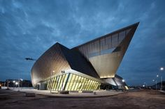 The MICX in Mons, Belgium - The European Capital of Culture 2015