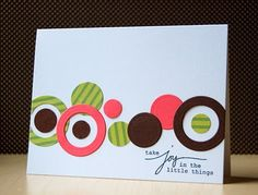 My Paper Secret: Embellish Color Challenge - Circles