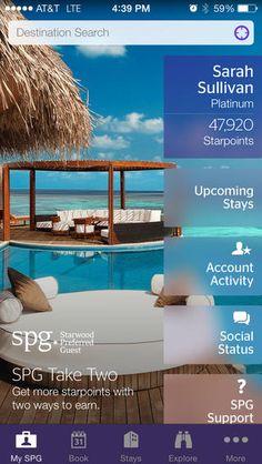 Starwood Hotels + iOS7