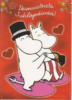 Moominmamma and Moominpappa Tove Jansson, Finland, Snoopy, My Love, Tattoo Ideas, Cards, Draw, Fictional Characters, Inspiration