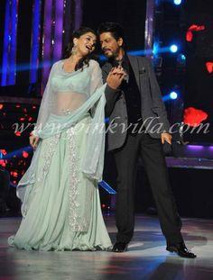 SRK and Madhuri at Jhalak Dikhla Jaa