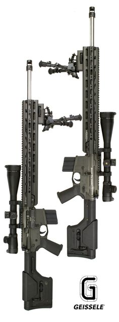 "Geissele Automatics 18"" SMR-Super Modular Rail with 18"" National Match Rail Extension."
