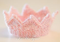 Baby Princess or Prince Crown Chose Your Own Colors Newborn 0-3 Months Photography