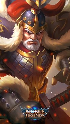 Wallpaper Yi Sun-Shin Major General Skin Mobile Legends HD for Android and iOS Mobile Legend Wallpaper, Hero Wallpaper, Naruto Wallpaper, Iphone Images Hd, Game Character, Character Design, Hero Fighter, Alucard Mobile Legends, Warriors