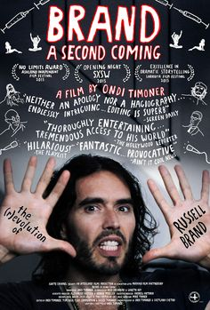 New Documentary | BRAND: A Second Coming. Available for PPR purchase. BRAND Chronicles actor / comedian / activist Russell Brand on his journey from addict, self-proclaimed narcissist and Hollywood star living in the fast-lane to his current, and unexpected, role as political disruptor & newfound hero to the underserved.