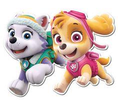 Troquelados Patrulla Canina Skye y amigos (2). Fiestafacil, tienda online de artículos para fiestas originales