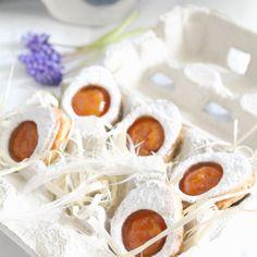 Biscotti occhi di bue alla farina di riso - www.julietsbelly.com