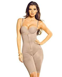f2bd764e66773 New NIB LEONISA Mid-Thigh Bodysuit Shaper XL 018433 Nude  fashion  clothing    · Strapless BodysuitWomen s ShapewearSexy ...