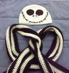 Nightmare Before Christmas Crochet -- NOW WITH IMG-FAT TUTORIAL FOR THE EYES! - CROCHET