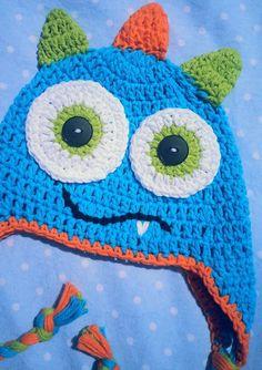 Crochet hat idea . cute for jess' twins*****