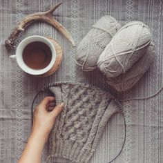 Loving my cable cardigan already. Cable Cardigan, Knitting, My Love, Photography, My Boo, Fotografie, Photograph, Tricot, Stricken