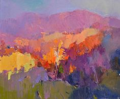 "Saatchi Art Artist Shandor Alexander; Painting, ""sunset"" #art"