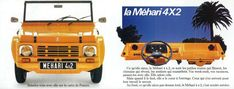 Citroen Mehari brochure