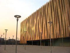 Олимпийский баскетбольный дворец в Пекине